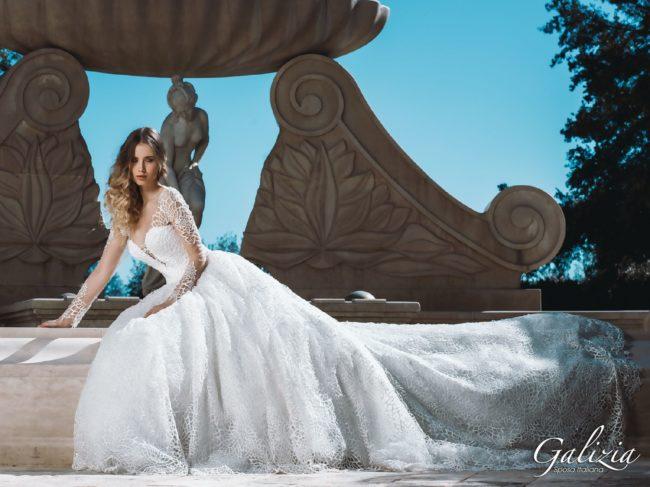 Galizia Spose Collection - Abito Ciclamino
